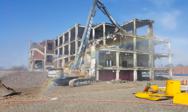 image of Building demo 2016 Carter Carb story