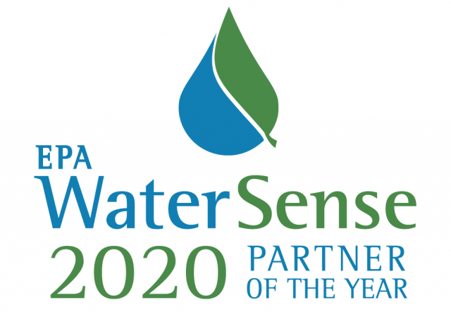 WaterSense Partner of the Year logo.