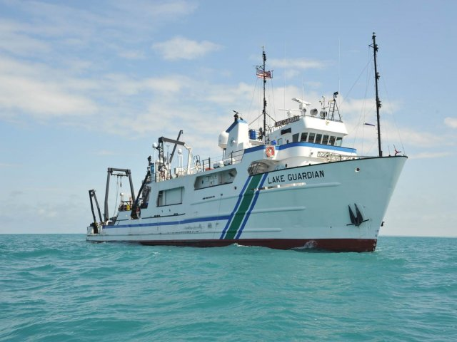 Photo of EPA's Lake Guardian Research Vessel