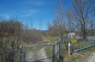 Western Mass. Electric Property, Former Oxbow F - Showing Oil Recovery System