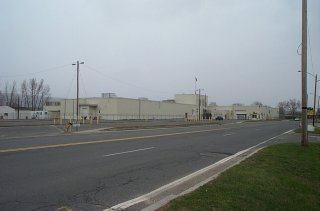 General Dynamics Operations at Building OP-3 on Merrill Road