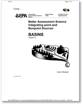 Cover of User Manual for Basins 4.1