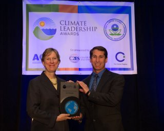 Beth Craig, US EPA, with Marty Sedler, Intel Corporation