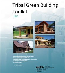 Cover of the Tribal Green Building Toolkit (PDF)