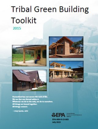 Cover of the Tribal Green Building Toolkit PDF