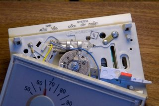 this is a picture of a typical mercury-containing thermostat