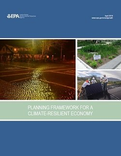 Cover of Planning Framework for a Climate-Resilient Economy