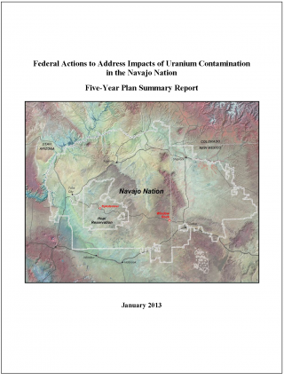 Cover of the 2013 progress report