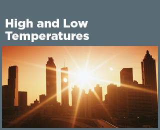 High and Low Temperatures