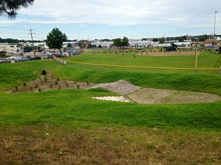 Providence, RI Green Infrastructure Project at J.T. Owens Ballpark: After Construction