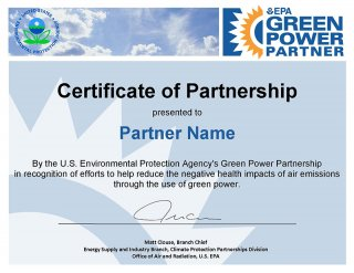 GPP Certificate of Partnership