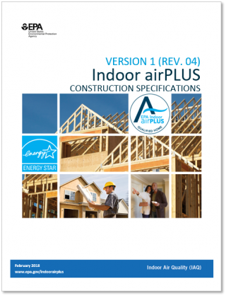 Indoor airPLUS Construction Specifications