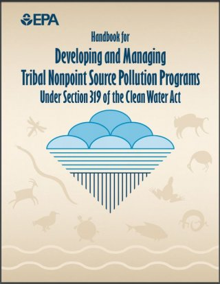 This is an image of the cover of the Tribal NPS Handbook