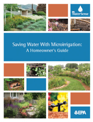 Cover page for the WaterSense Microirrigation Guide