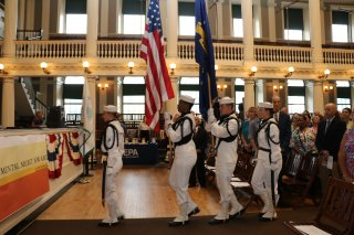 EMA 2018: Opening Ceremony - USS Constitution Honor Guard
