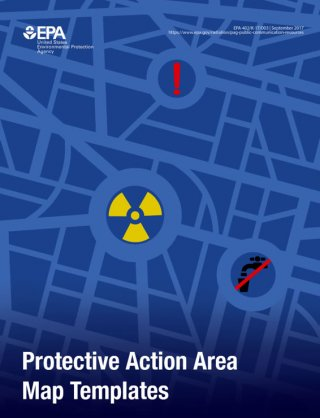 Protective Action Area Maps Templates