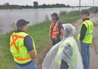 image of flood zone visit2 May 2019