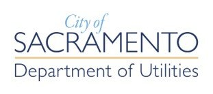 The City of Sacramento Department of Utilities Logo