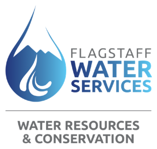 The City of Flagstaff Water Conservation Program Logo