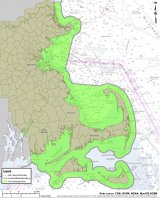 Map of Massachusetts No Discharge Zones