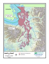 Map of Puget Sound no-discharge zone