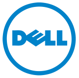 the word dell with a circle around it
