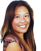 this is a picture of Gina Lee of the Upcyclers Network