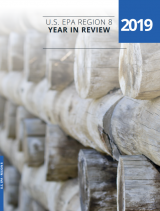 cover of Region 8's 2019 Accomplishments Report